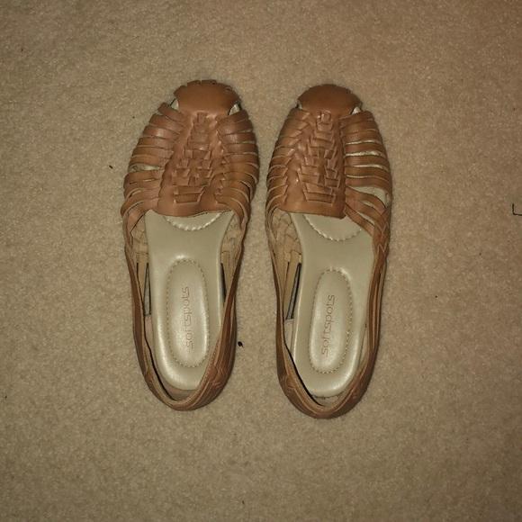 Softspots Shoes - WORN ONCE Espadrille Sandals